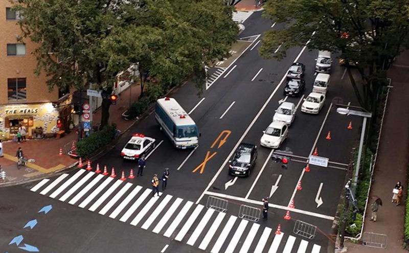 令和元年10月22日即位礼正殿の儀の交通規制