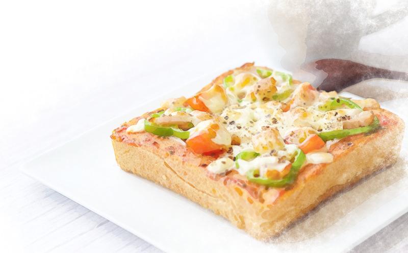 ピザトーストのレシピ