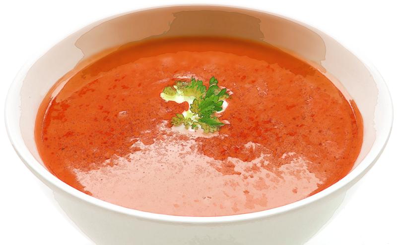 冷静トマトスープのレシピ